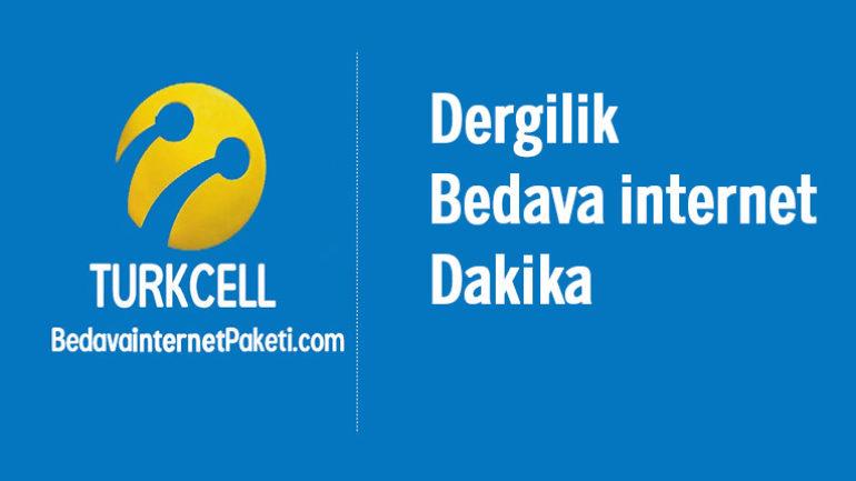 Turkcell Dergilik Kullananlar Her Ay Bedava internet Kazanıyor