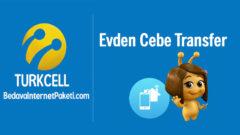 Turkcell Evden Cebe Transfer Haftalık 1 GB internet