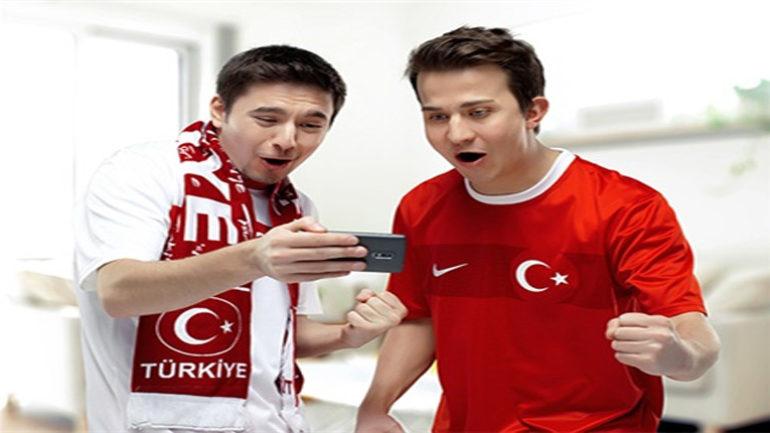 Turkcell Her Gol 100 MB Bedava internet Kazandırıyor