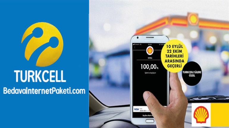 Turkcell Visa ile Shell'de 30 TL Değerinde Yakıt Kampanyası