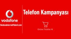 Vodafone Fatura Üzerine Online Akıllı Telefon Al