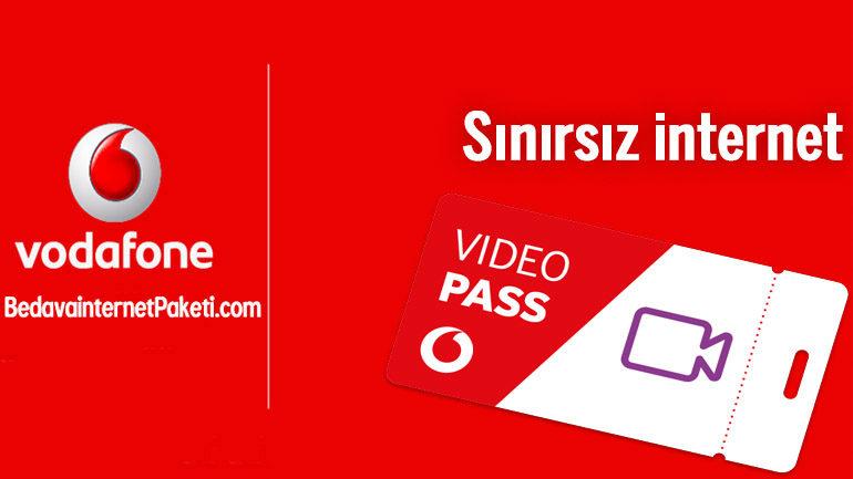 Vodafone internetten Yemeyen Video Paketi ile Sınırsız internet