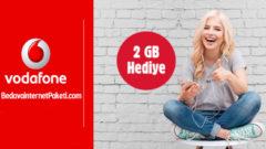 Vodafone FreeZone 2 Gün Geçerli 2 GB Bedava internet