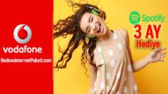 Vodafone FreeZone Spotify Premium ilk 3 Ay Hediye
