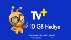 Turkcell Yeşil Beyaz TV+ 10 GB Hediye internet Kampanyası