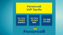 Türk Telekom Fenercell VIP Tarife – 12 GB internet