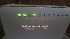 Modem internet Işığı Neden Yanmıyor ?