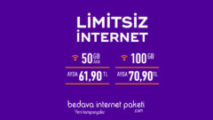 Selfy Evde 100 GB internet Kampanyası