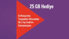 Türk Telekom Enflasyonla Mücadele %10 internet Fatura indirimi