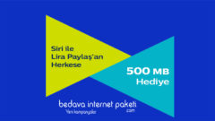 Türk Telekom Siri Kullananlara 500 MB Bedava internet