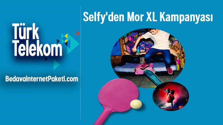 Türk Telekom Selfy Mor XL Tarifesi 10 GB internet Paketi 39 TL