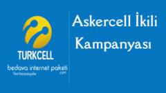 Turkcell Askercell İkili Tarifesi 1000 Dakika – 1000 SMS Paketi