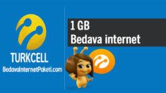 Turkcell Bayi Haftalık 1 GB Bedava internet Kampanyası