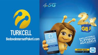 Turkcell Enflasyonla Mücadele Bedava internet Kampanyası