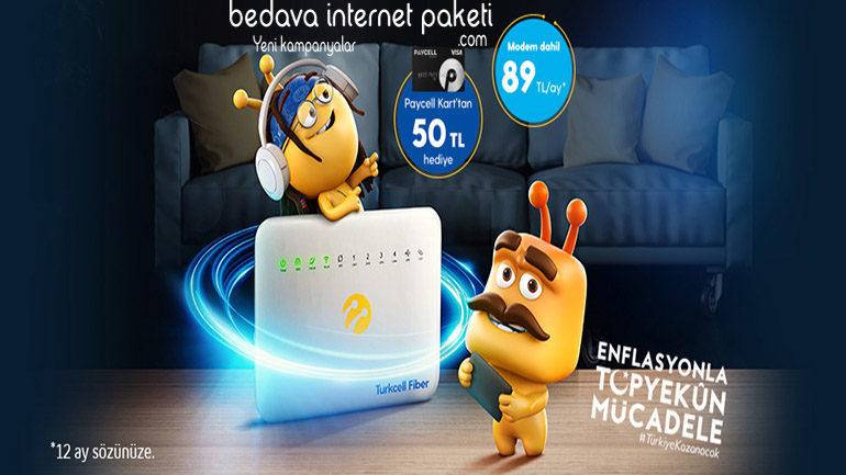 Turkcell Fiber Adil Kullanım Kotasız internet Kampanyası