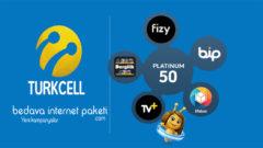 Turkcell Platinum 50 Tarifesi – 50 GB internet Paketi