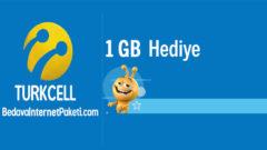 Turkcell Ziraat Bankası Mobil Aylık 1 GB Bedava internet