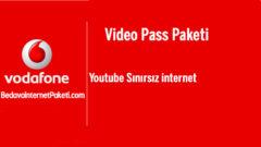 Vodafone Faturasız Video Pass Paketi Fiyatı 29 TL Oldu