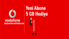 Vodafone Yeni Abone – Müşteri Bedava internet Nasıl Yapılır ?