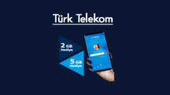 Türk Telekom Haftalık 5 GB Bedava internet Yapı Kredi
