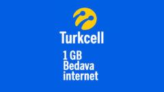 Turkcell Anadolu Şampiyonları 1 GB Bedava internet Kampanyası