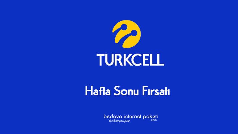 Turkcell Hafta Sonuna Özel indirim Fırsatı