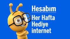 Turkcell Hesabım Uygulaması Yükle Hediye internet Kazan