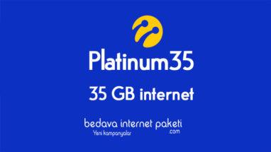 Turkcell Platinum 35 GB Tarifesi – 35 GB internet