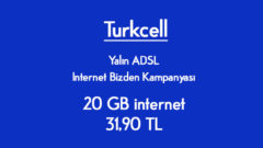 Turkcell SüperOnline 20 GB internet 31,90 TL Kampanyası