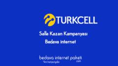 Turkcell Salla Kazan ile Her Hafta Bedava internet