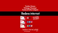 Enflasyonla Mücadele Haftalık Bedava internet Hediyesi