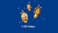 Turkcell Emocan Çocuk Uygulaması Aylık 5 GB Hediye internet