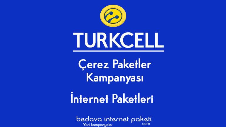 Turkcell Çerez Paketler Saatlik ve Günlük internet Kampanyası