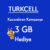 Turkcell Aylık 3 GB Bedava internet Kazandıran Kampanya