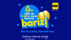 Turkcell GNÇ 8 GB Bedava internet: Sende Çatlat