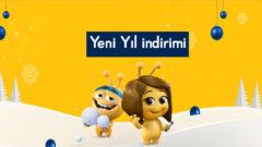 Turkcell Sarı Günler Yeni Yıl Özel İndirimleri