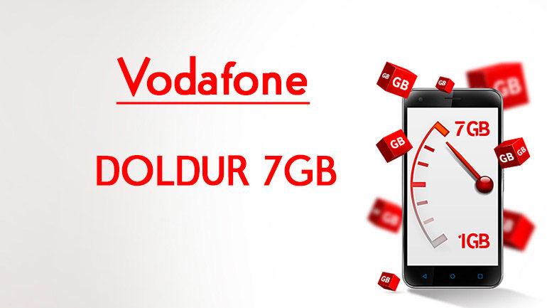Vodafone DOLDUR 7 GB internet Paketi