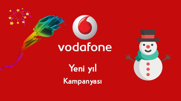 Vodafone'dan Yılbaşı Yeni Yıl Bedava internet 2019 Hediyesi