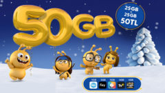 Turkcell 2019 Yeni Yıl 50 GB internet Kampanyası