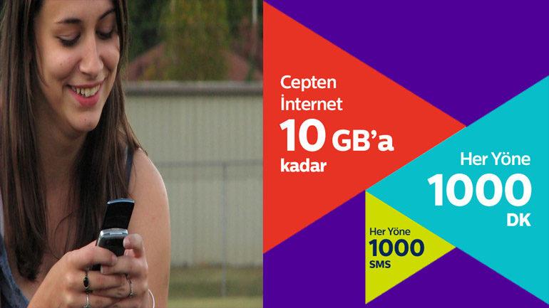 İnternetliye En Kral 10 GB Tarifesi