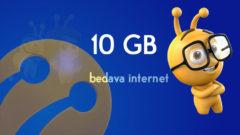Turkcell Bedava 10 GB internet 2019 – 6 Ay Geçerli