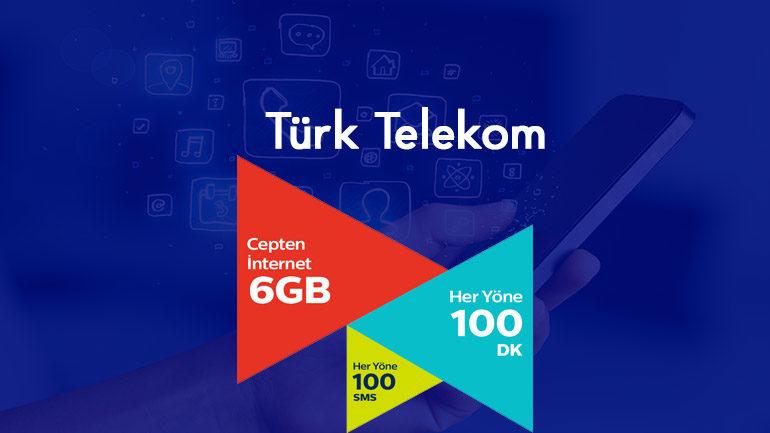Akıllı Profesyonel Tarifesi – 6 GB internet 100 Dakika 100 SMS