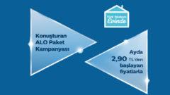 Evde internet Türk Telekom Konuşturan Alo Paket Kampanyası