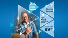 Türk Telekom Limitsiz Ev interneti – Mobil 4 GB Hediye