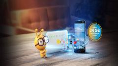 Turkcell Fiber Evden Cebe Taşan Paketler 24 GB Hediye