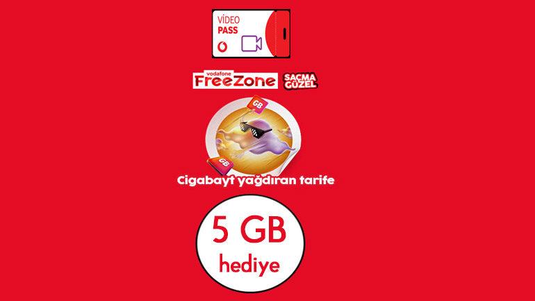 Vodafone 2019 Yılı Bedava internet Kampanyaları ile Geldi