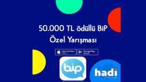 Hadi Joker Kodu BiP Özel Yarışması 50.000 TL Ödüllü