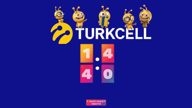 Turkcell Lifecell Hadi Kazan internet Kampanyası
