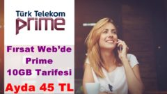 Türk Telekom 10 GB İnternet Paketi Fırsat Webde!