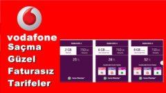Vodafone Saçma Güzel Faturasız İnternet Paketleri